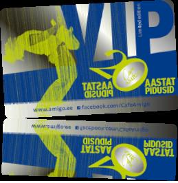 Cafe Amigo VIP card