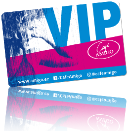 Cafe Amigo VIP card